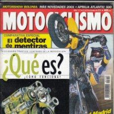 Coches y Motocicletas: REVISTA MOTOCICLISMO Nº 1712 AÑO 2000. PRUEBA: VICTORY V92SC SPORTCRUISER. YAMAHA YZ 426 F. . Lote 90612410
