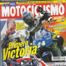 Coches y Motocicletas: REVISTA MOTOCICLISMO Nº 1741 AÑO 2001. PRUEBA: CAGIVA RAPTOR 650. COMP: HONDA CBR RR FIREBLADE . Lote 90613105
