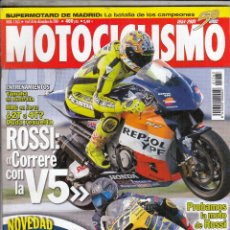 Coches y Motocicletas: REVISTA MOTOCICLISMO Nº 1763 AÑO 2001. PRU HONDA CB 900 HORNET. YAMAHA XV 1700. ROAD STAR WARRIOR.. Lote 195432678