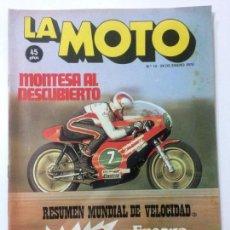 Coches y Motocicletas: REVISTA LA MOTO NÚMERO 15, 24 ENERO 1976, BENELLI 500, CON PÓSTER, VER SUMARIO.. Lote 90656735