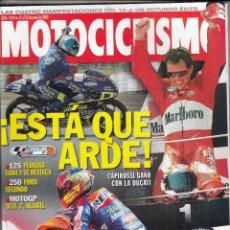 Coches y Motocicletas: REVISTA MOTOCICLISMO Nº 1843 AÑO 2003. PRUEBA: MONDIAL PIEGA 1000. TRIUMPH SPEEDMASTER 790.. Lote 235470970