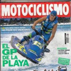 Coches y Motocicletas: REVISTA MOTOCICLISMO N 1903 AÑO 2004. PRU: SYM EURO MX 125 DD. COMP: BMW K 1200 S, HONDA CBR 1100 XX. Lote 91087845