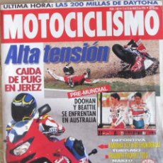 Coches y Motocicletas: MOTOCICLISMO 1464 1996 DOOHAN, BEATTIE, YAMAHA YZF 600, TRIUMPH TROPHY 1200, SUZUKI BANDIT.. Lote 91112310