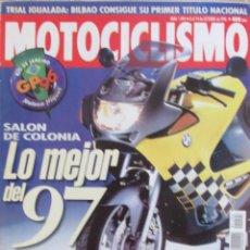 Coches y Motocicletas: MOTOCICLISMO 1494 1996 SALÓN DE COLONIA, SBK ALBACETE, BMW K 1200 RS. GP BRASIL. Lote 91125175