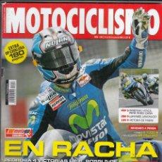 Coches y Motocicletas: REVISTA MOTOCICLISMO Nº 1947 AÑO 2005. PRU: BMW K 1200 R. HYOSUNG GT 650 R. COMP: APRILIA RS 125, . Lote 91249660