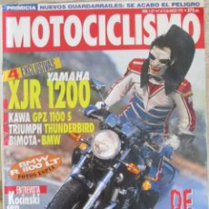 Coches y Motocicletas: MOTOCICLISMO 1411 1995 BMW R 1100 LT, YAMAHA XJR 1200, KAWASAKI GPZ 1100, PETERHANSEL, KOCINSKI. Lote 91264660