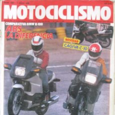 Coches y Motocicletas: MOTOCICLISMO 1062 1988 GILERA 500 SATURNO, CAGIVA FRECCIA C-10, MUNDIAL CROSS 500, BMW K 100 RS. Lote 91265310
