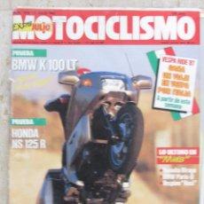 Coches y Motocicletas: MOTOCICLISMO 1010 1987 BMW K 100 LT, HONDA NS 125 R, YAMAHA VIRAGO, VESPINO ROSI, BMW PARIS-D. Lote 91281560