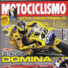 Coches y Motocicletas: REVISTA MOTOCICLISMO Nº 1989 AÑO 2006. PRUEBA: SUZUKI GSX-R 750. DUCATI SPORT 1000. BMW F 800 S/ST. . Lote 105801204