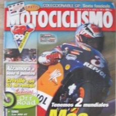 Coches y Motocicletas: MOTOCICLISMO 1644 1999 ALZAMORA, CRIVILLÉ, YZ250 MCGRANTH, VOXAN ROADSTER. MICK DOOHAN. Lote 91365610