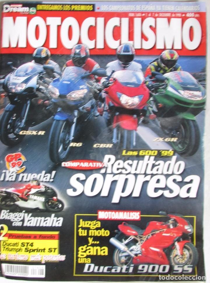 MOTOCICLISMO 1606 1998 LAS 600 '90 BIAGGI, DUCATI ST4, TRIUMPH SPRINT ST, DUCATI 900 SS, APRILIA RSV (Coches y Motocicletas - Revistas de Motos y Motocicletas)