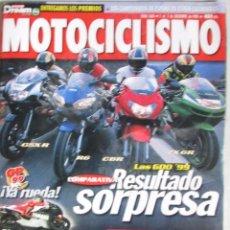 Coches y Motocicletas: MOTOCICLISMO 1606 1998 LAS 600 '90 BIAGGI, DUCATI ST4, TRIUMPH SPRINT ST, DUCATI 900 SS, APRILIA RSV. Lote 91765210
