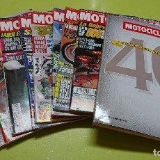 Coches y Motocicletas: LOTE DE 8 REVISTAS MOTOCICLISMO + ESPECIAL 40 ANIVERSARIO . Lote 94429562
