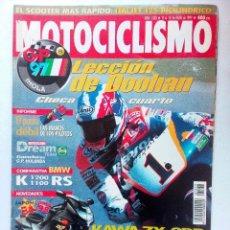 Coches y Motocicletas: REVISTA MOTOCICLISMO Nº 1533 AÑO 1997. DOOHAN COMPARATIVA BMW K1200 1100 RS KAWA ZK-9RR . Lote 94803223