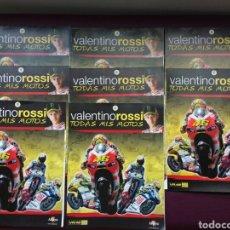 Coches y Motocicletas: VALENTINO ROSSI. TODAS MIS MOTOS, NÚMEROS DEL 2 AL 9, CON POSTER MOTO. Lote 95790738