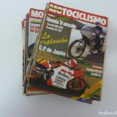 Coches y Motocicletas: LOTE DE 26 REVISTAS DE MOTOCICLISMO. AÑO 1987. 1988. 1989. 1990. 1992. Lote 157033153
