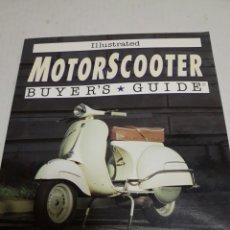 Coches y Motocicletas: LIBRO MOTORSCOOTER BUYER´S GUIDE VESPA LAMBRETTA MICHAEL DREGNI 1993 EN INGLÉS. Lote 96266348
