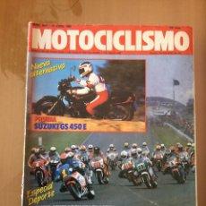 Coches y Motocicletas: REVISTA MOTOCICLISMO NÚMERO 1051 ABRIL 1988. Lote 96585615