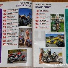 Coches y Motocicletas: REVISTA,MAGAZINE,FREEWAY,22,MAYO,1995,MOTO,HARLEY,CUSTOM. Lote 96815139