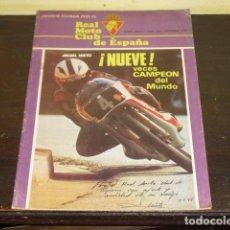Coches y Motocicletas: REAL MOTO CLUB DE ESPAÑA Nº 350 DICIEMBRE DE 1979 -. Lote 96859559