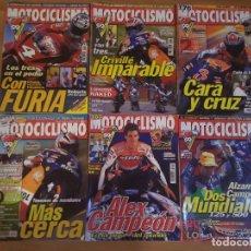 Coches y Motocicletas: NUMEROS DE REVISTA MOTOCICLISMO. Lote 97180123