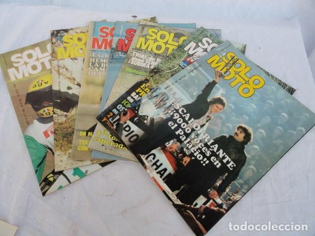 7 REVISTAS - SOLO MOTO -. AÑO 1978. (Coches y Motocicletas - Revistas de Motos y Motocicletas)