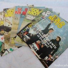 Coches y Motocicletas: 7 REVISTAS - SOLO MOTO -. AÑO 1978.. Lote 98645311