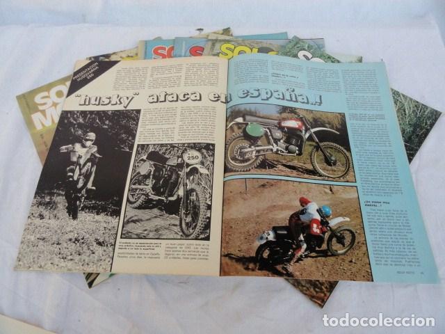 Coches y Motocicletas: 7 REVISTAS - SOLO MOTO -. AÑO 1978. - Foto 2 - 98645311