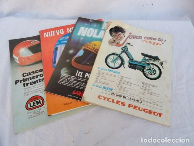 Coches y Motocicletas: 4 REVISTAS - SOLO MOTO -. AÑOS 1979-80. - Foto 3 - 98645839