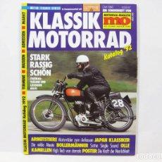 Coches y Motocicletas: REVISTA DE MOTOS KLASSIC MOTORRAD KATALOG 92 - MOTOS CLÁSICAS - EXCELSIOR. Lote 100643827