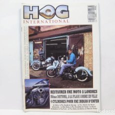 Coches y Motocicletas: REVISTA HOG INTERNATIONAL - HARLEY DAVIDSON. Lote 100644231