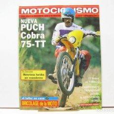 Carros e motociclos: REVISTA DE MOTOS MOTOCICLISMO Nº 632 - NOVIEMBRE 1979. Lote 100707107