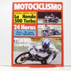 Coches y Motocicletas: REVISTA DE MOTOS MOTOCICLISMO Nº 714 - JULIO DE 1981. Lote 100709003