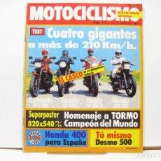 Coches y Motocicletas: REVISTA DE MOTOS MOTOCICLISMO Nº 716 - AGOSTO DE 1981. Lote 100709059