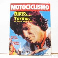 Coches y Motocicletas: REVISTA DE MOTOS MOTOCICLISMO Nº 717 - AGOSTO DE 1981. Lote 100709123