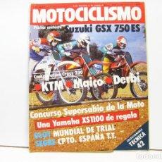 Coches y Motocicletas: REVISTA DE MOTOS MOTOCICLISMO Nº 790 - FEBRERO DE 1983. Lote 100749731