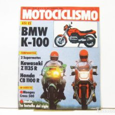 Coches y Motocicletas: REVISTA DE MOTOS MOTOCICLISMO Nº 817 - SEPTIEMBRE DE 1983. Lote 100749983
