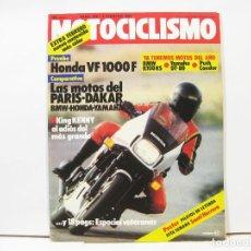 Coches y Motocicletas: REVISTA DE MOTOS MOTOCICLISMO Nº 838 - FEBRERO DE 1984. Lote 100750907