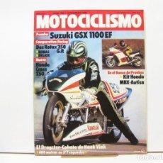 Coches y Motocicletas: REVISTA DE MOTOS MOTOCICLISMO Nº 840 - FEBRERO DE 1984. Lote 100751003