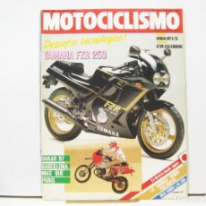 Coches y Motocicletas: REVISTA DE MOTOS MOTOCICLISMO Nº 986 - ENERO DE 1987. Lote 100751559