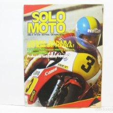 Coches y Motocicletas: REVISTA DE MOTOS SOLO MOTO - AÑO 5 Nº 208 - SEPTIEMBRE DE 1979. Lote 101047011
