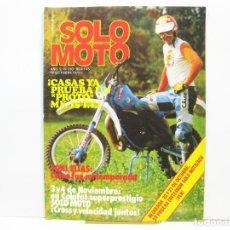 Coches y Motocicletas: REVISTA DE MOTOS SOLO MOTO - AÑO 5 Nº 210 - OCTUBRE DE 1979. Lote 101047139