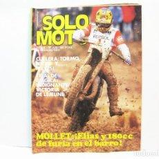 Coches y Motocicletas: REVISTA DE MOTOS SOLO MOTO - AÑO 6 Nº 228 - FEBRERO DE 1980. Lote 101047647