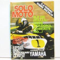 Coches y Motocicletas: REVISTA DE MOTOS SOLO MOTO - AÑO 6 Nº 238 - MAYO DE 1980. Lote 101047775
