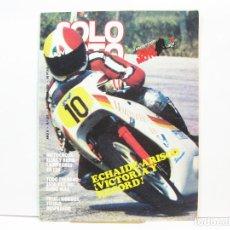 Coches y Motocicletas: REVISTA DE MOTOS SOLO MOTO - AÑO 6 Nº 257 - OCTUBRE DE 1980. Lote 101048115
