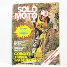 Voitures et Motocyclettes: REVISTA DE MOTOS SOLO MOTO - AÑO 6 Nº 260 - OCTUBRE DE 1980. Lote 101048343