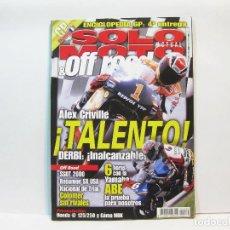Coches y Motocicletas: REVISTA DE MOTOS SOLO MOTO ACTUAL & OFF ROAD - Nº 1249 DE MAYO DE 2000. Lote 101062419