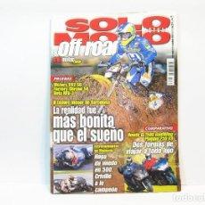 Coches y Motocicletas: REVISTA DE MOTOS SOLO MOTO ACTUAL & OFF ROAD - Nº 1276 DE NOVIEMBRE DE 2000. Lote 101062643