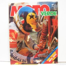 Coches y Motocicletas: REVISTA DE MOTOS MOTO VERDE Nº 21 - ABRIL DE 1980. Lote 101072299