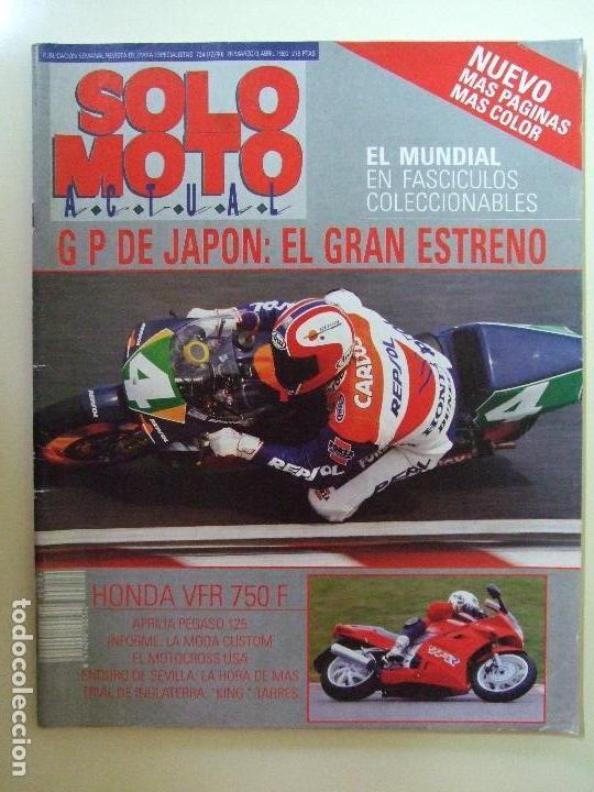 Coches y Motocicletas: LOTE 7 REVISTAS SOLO MOTO AÑO 1990 Nº 724 727 729 730 731 732 733 REVISTA MOTOS ASPAR CARDUS - Foto 4 - 101205183